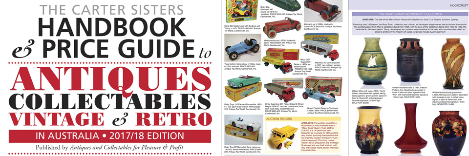 Australian leading antiques and collectable magazine offered by Antiques & Collectables for Pleasure and Profit